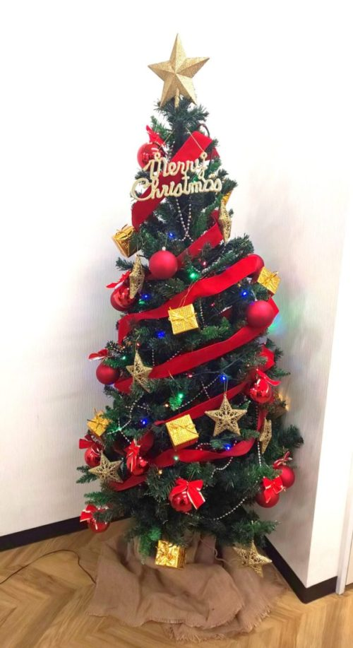 MJのクリスマスツリー