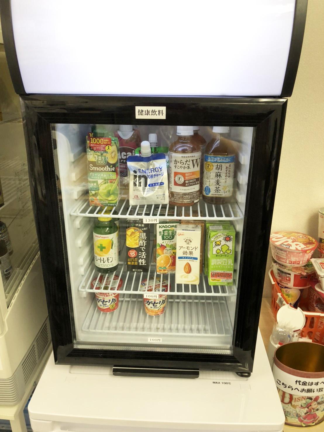 6階 フリスペースの冷蔵庫