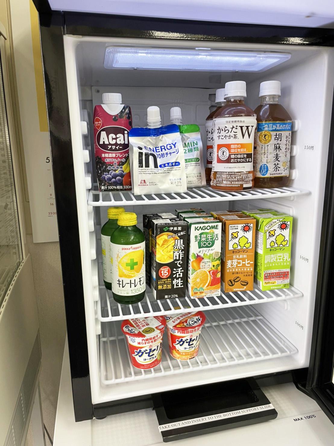 6階 フリースペースの冷蔵庫の商品
